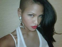 shaved head Cassie